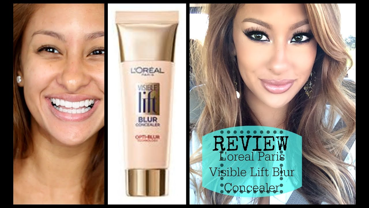 Review DEMO Loreal Visible Lift Blur Concealer