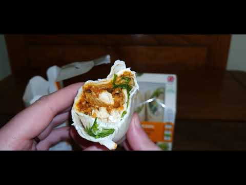 Chicken Wrap Tesco Vs Co Op Merita Sau Nu Youtube