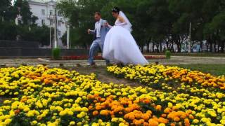 Клип наша свадьба. Комсомольск на Амуре