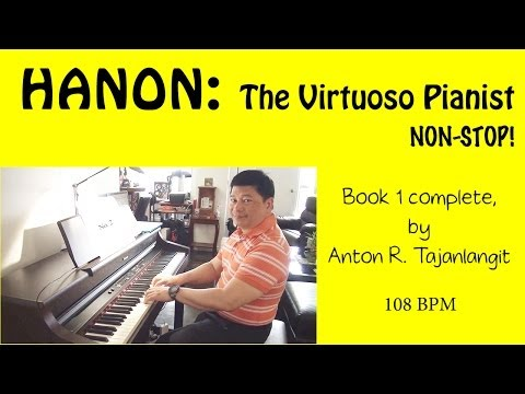 Hanon Exercises for the Piano Book 1