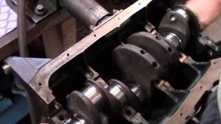 Часть 4 Lada Капитальный ремонт ВАЗ 2107 (1600)  Установка коленвала