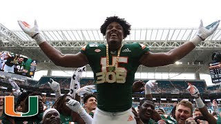Miami's Gregory Rousseau: 2019 ACC Defensive Rookie Of The Year