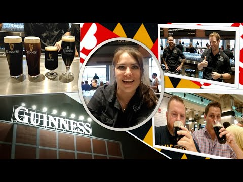 Sampling Beers At The Guinness Open Gate Brewery