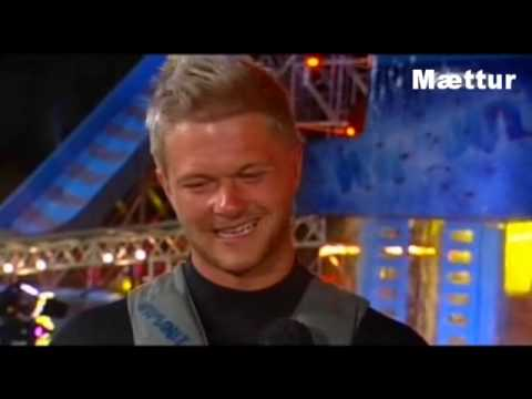 Best Wipeout contestant ever - DJ Muscleboy Iceland