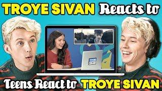 Troye Sivan Reacts To Teens React To Troye Sivan Mp3
