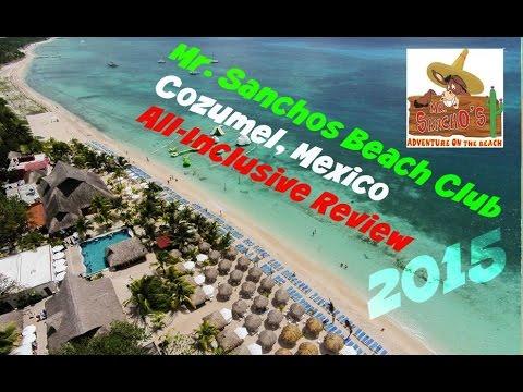 Mr. Sanchos Beach Club Cozumel! ★ 2015 ★