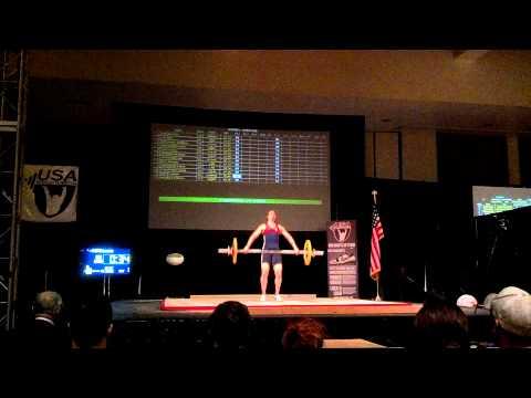 Lauren Fiske 56kg Sn FA @ 2012 American Open, Palm Springs, Ca. 11-30-12