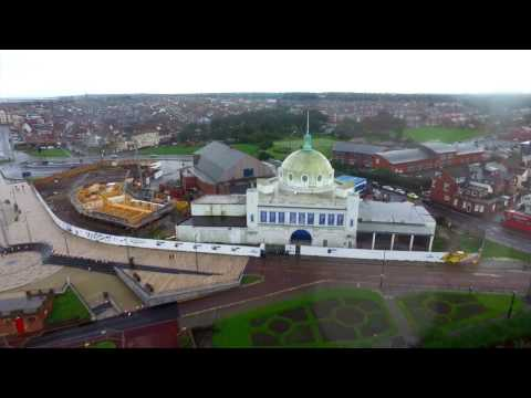 Spanish City, Whitley Bay redevelopment - behind the scenes