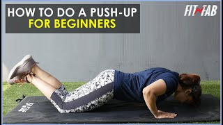 How to do a push up?   Fitness   Fit n Fab by Pyar.com
