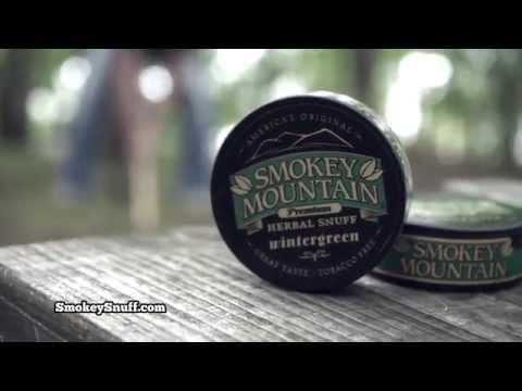 Smokey Mountain Herbal Snuff and Pouches