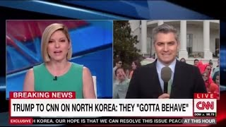 "Kid Yells ""Fake News"" to CNN Reporter Live on Air"