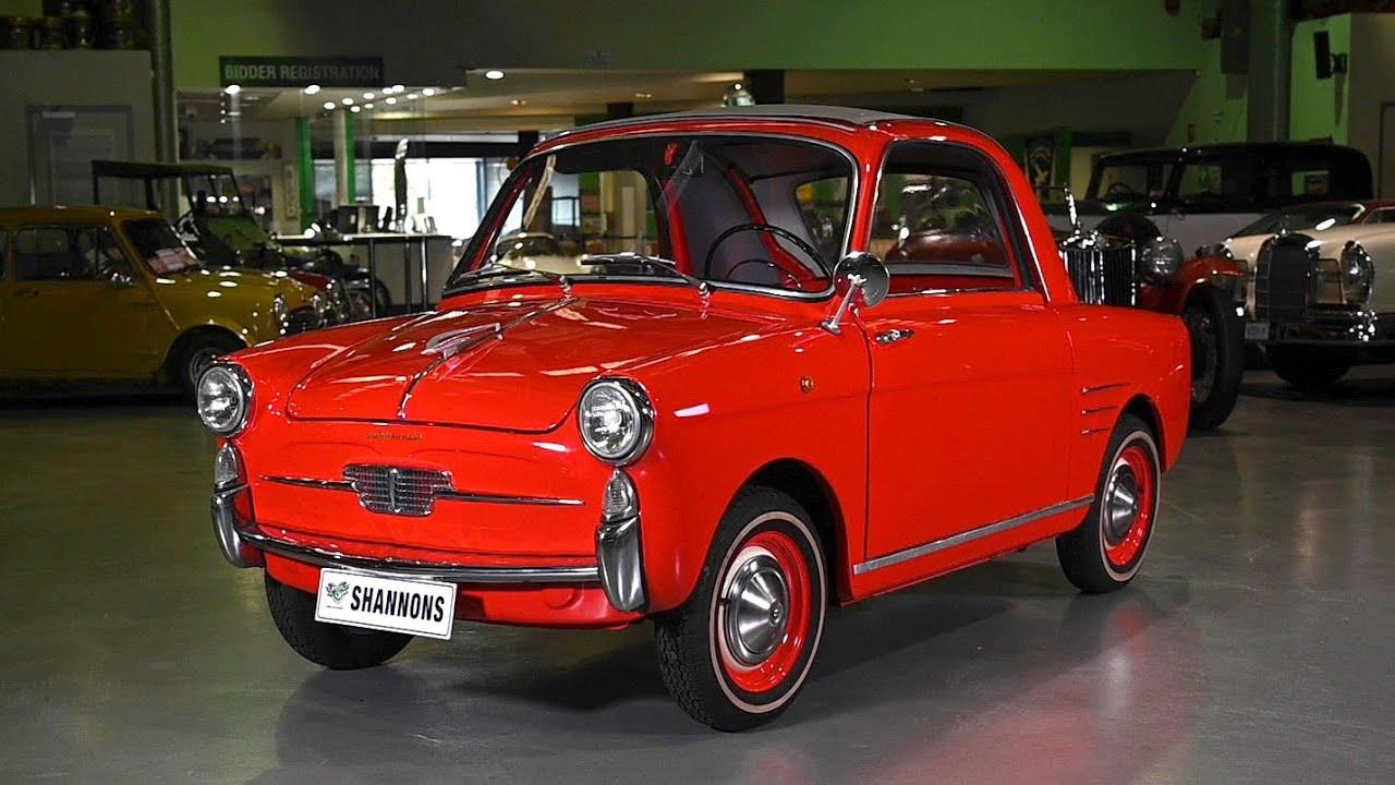 1960 Autobianchi Bianchina Trasformabile Sedan (LHD) - 2019 Shannons Sydney Spring Classic Auction