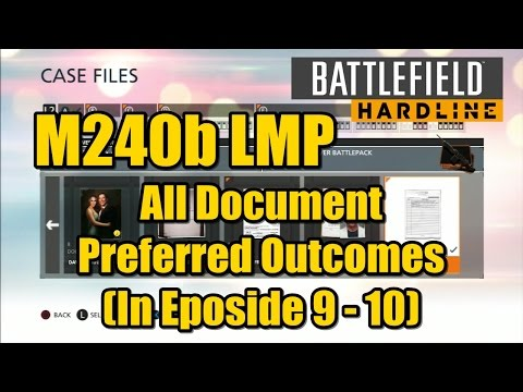 Battlefield Hardline All Case Files Document l Preferred Outcomes In Eposide 9 - 10)