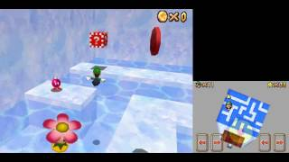 "[HD TAS] SM64DS - Into the Igloo 18""10"
