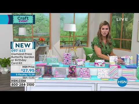 HSN | Paper Crafting Tools & Supplies 05.04.2021 – 10 AM