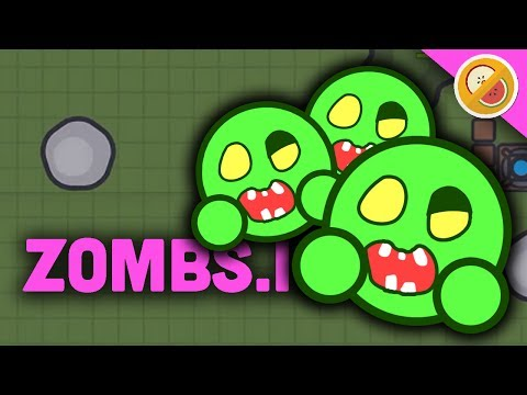 THERE'S TOO MANY OF THEM! | Zombs.io