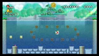 New Super Mario Bros. Wii - Star Coin Location Guide - World 4-4 | WikiGameGuides