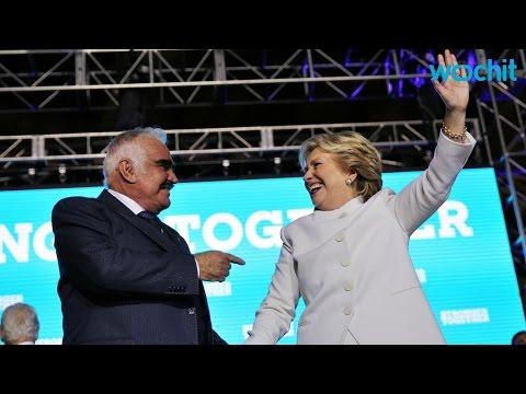 Hillary Clinton Agradece A Vicente Fernández Por Su Apoyo