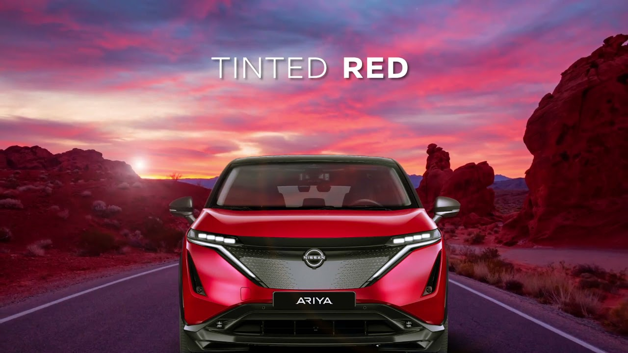 Nissan ARIYA   One Electric Future, 10 Colors