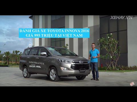 [XEHAY.VN] Đánh giá xe Toyota Innova 2016 giá 995 triệu tại Việt Nam  4k  2017