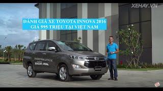 [XEHAY.VN] Đánh giá xe Toyota Innova 2016 giá 995 triệu tại Việt Nam |4k| 2017