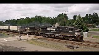 Idiot and Two Trains Race in Chesterton,IN live cam