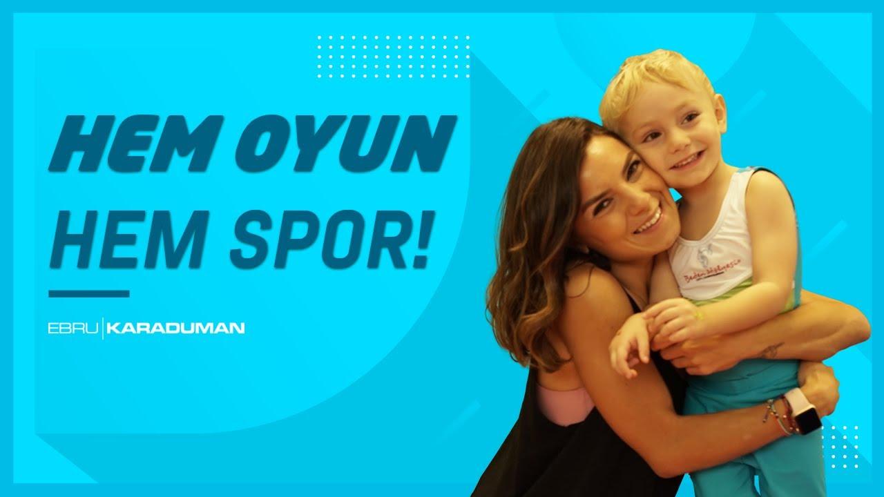 Alp İle Hem Oyun Hem Spor İŞTE BÖYLE YAPILIR !!!