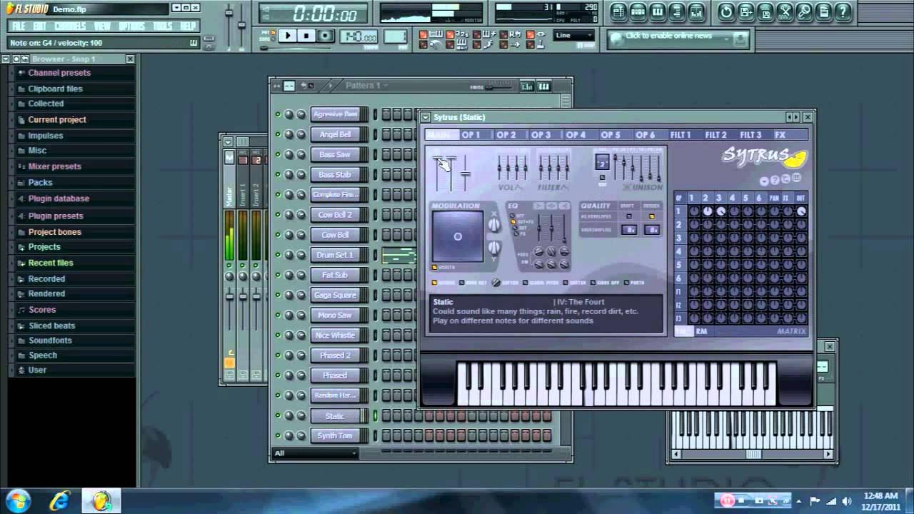 fl studio 9 instrument packs free download