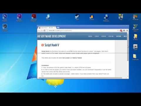 Решение ошибки после обновления GTA V: SCRIPT HOOK V