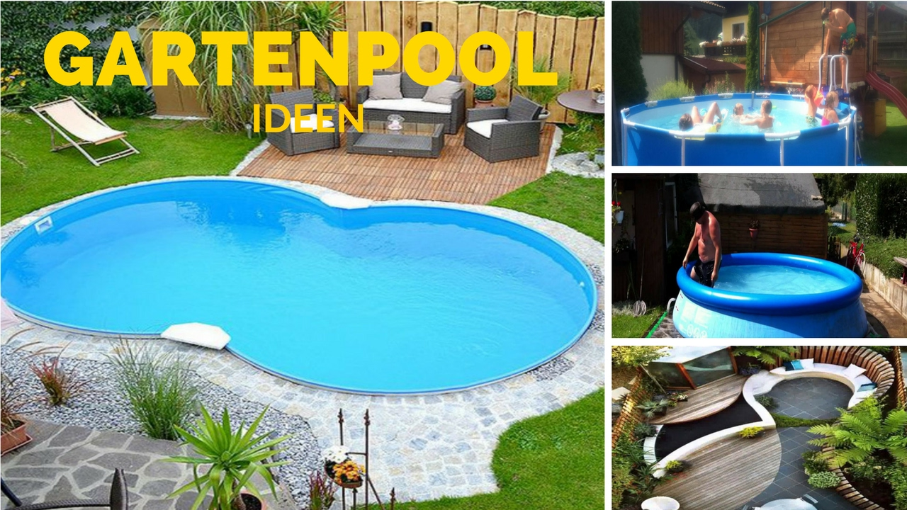 gartenpool kleiner garten pool ideen youtube