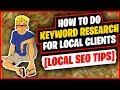 Keyword Research for Local Clients