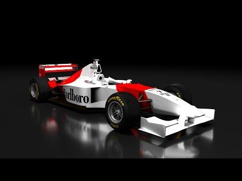 F1 1996 MOD // 1.FUTAM: AUSZTRÁLIA-MELBOURNE // MARLBORO MCLAREN MERCEDES KARRIER