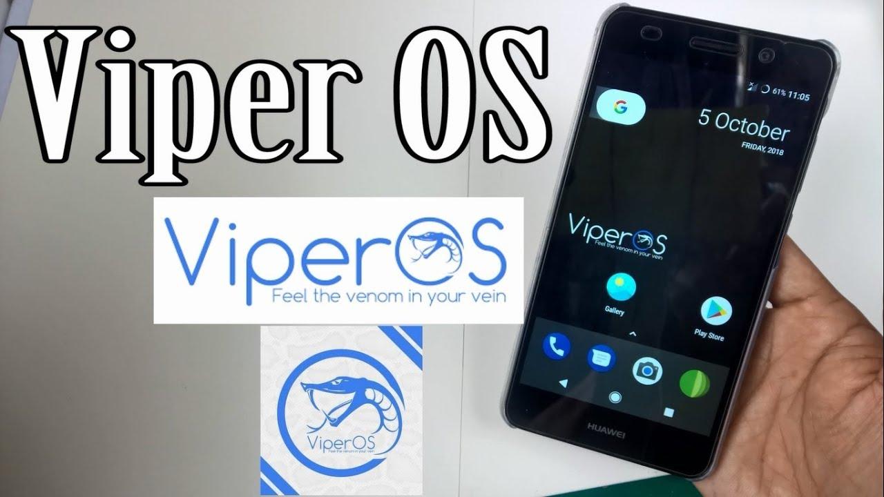 ViperOS Custom Rom [Huawei Y6 II & P8 Lite]