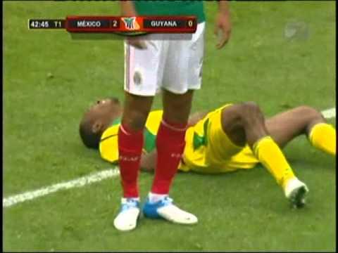 México Vs. Guyana (3-1) Eliminatoria Mundialista --- Brasil 2014 ---