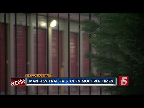 Business Owner Has Two Trailers Stolen From Storage Facility