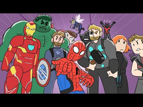 EVERY Marvel Movie Animated Recap | MCU Avengers Compilation