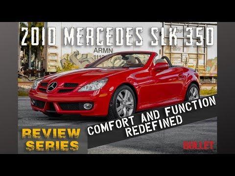 2010 Mercedes SLK 350 Convertible For Sale [4K] | REVIEW SERIES