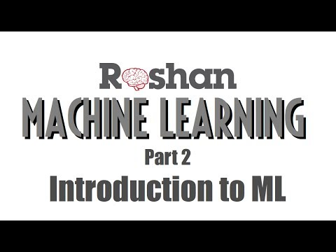 Machine Learning 2 - Introduction to ML