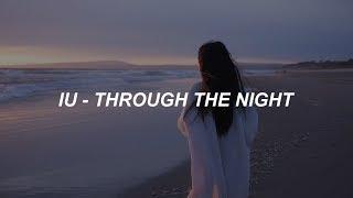 IU(아이유) _ Through the Night(밤편지) Easy Lyrics
