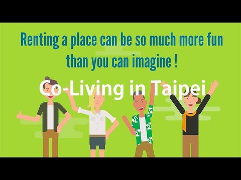 Where to stay in Taipei? Home Sweet Home Share House | Taipei Co-living Spaces