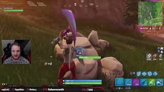 Elotrix realtalk about his girlfriend! Fortnite 16 Kill Round!