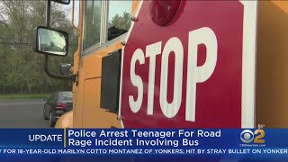 Teen Arrested In Road Rage Incident