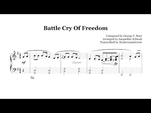 Battle Cry of Freedom :: Piano