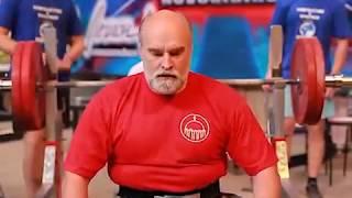 Протоиерей Александр Новопашин - жим лёжа