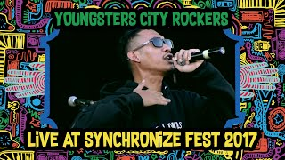Youngster City Rockers live at SynchronizeFest - 8 Oktober 2017