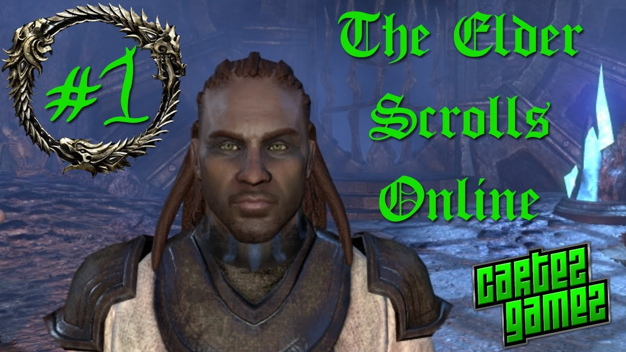 The Elder Scrolls Online Beta Gameplay - Part 1 ...Redguard Elder Scrolls Online
