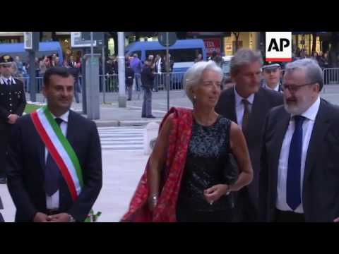 Top G7 finance officials gather in Italy