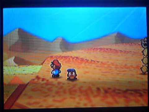 Paper Mario Bloopers: Lost in the Desert!