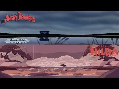 Angry Beavers And Hilda: Runaway Scene