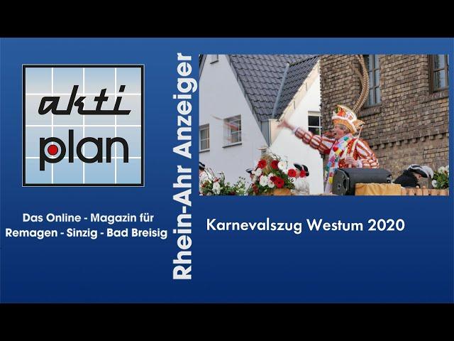 Karnevalszug Westum 2020